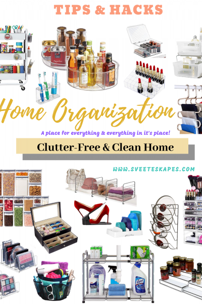How-To-Declutter-Organize-Your-Home-Tips-Hacks