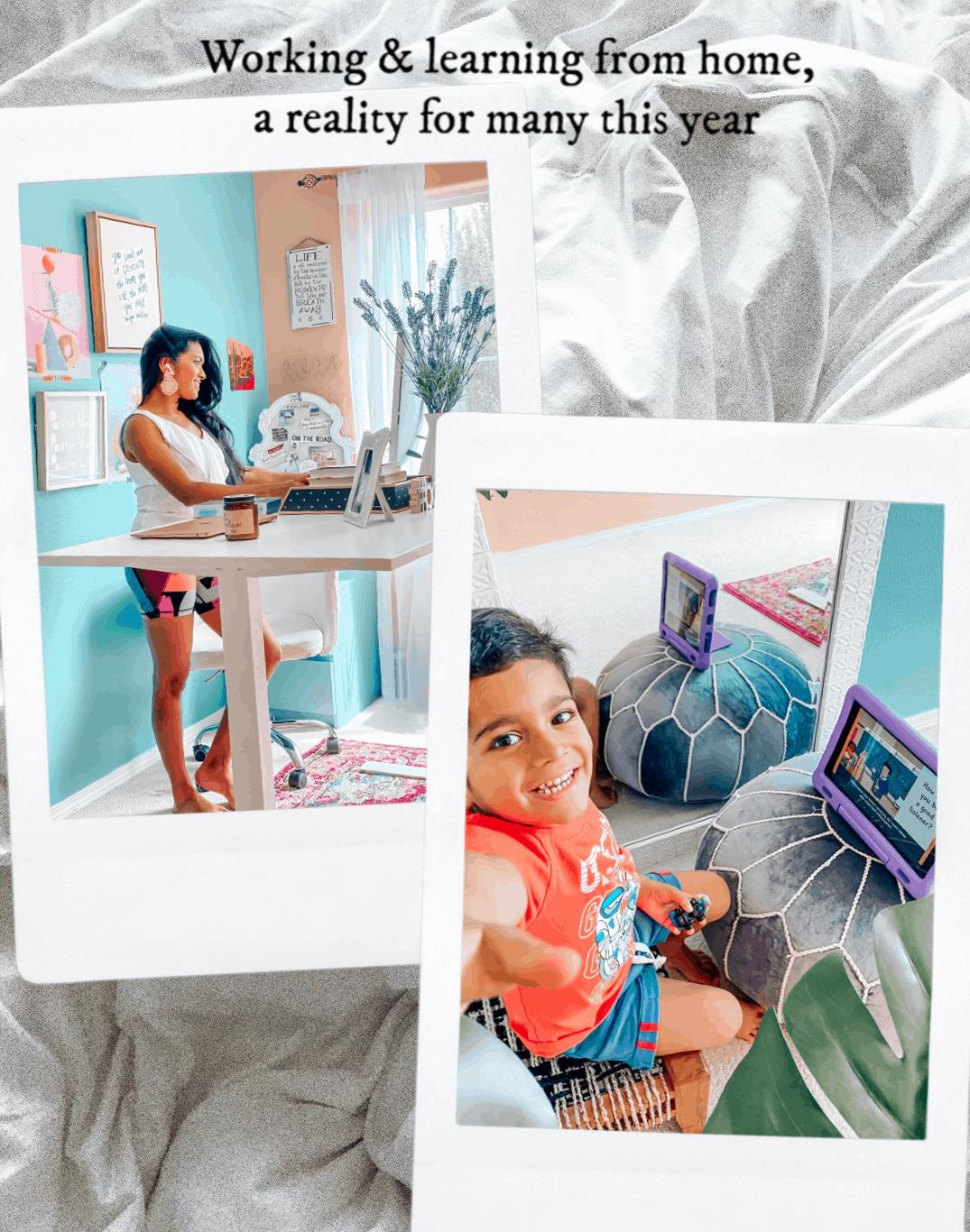 Homeschool Resources Home Office Workspace Kids Tablet Education Apps Alexa