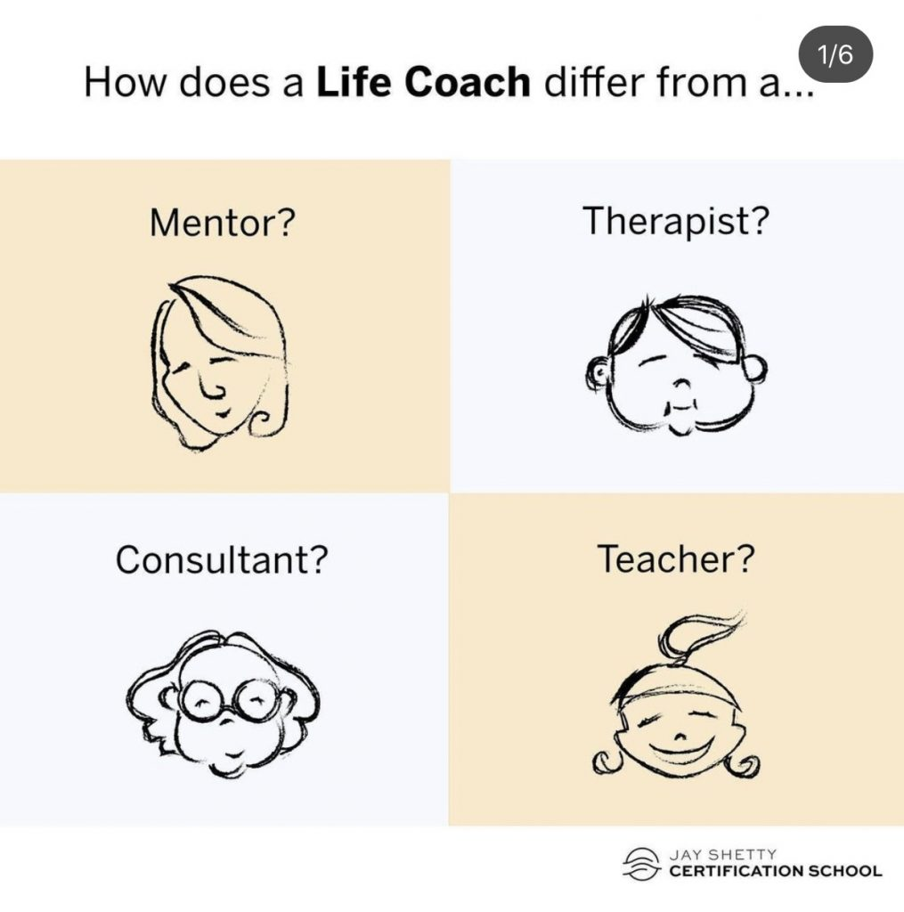 Life Coaching Myths Reality Growth Mindset Mind Over Matter Personal Growth Jay Shetty Certification School