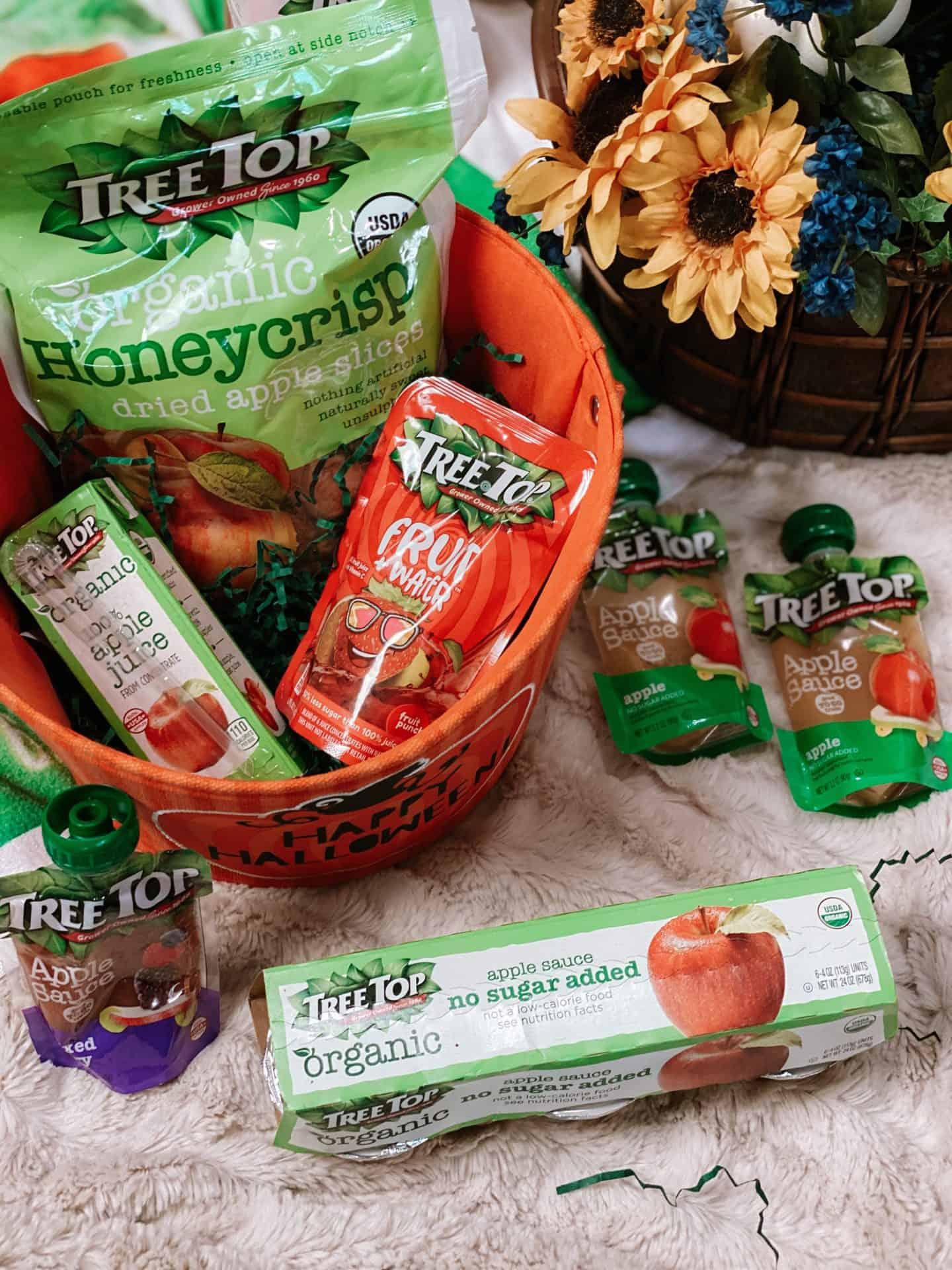 Snack-Time-Ideas-Tree-Top-Fruit-Snacks-Beverage-halloween-trick-treat