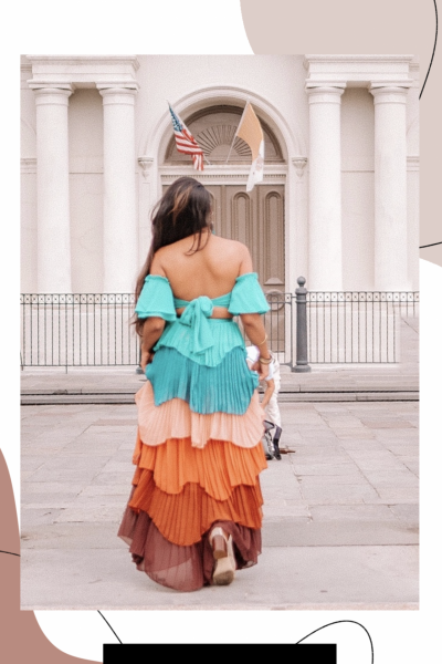 Know-when-to-walk-away-ruffle-dress-two-piece-set-New-Orleans