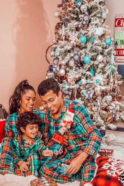 Matching Holiday Family Pajamas
