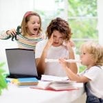 HOW TO BE PRODUCTIVE WHILE WORKING FROM HOME WITH KIDS