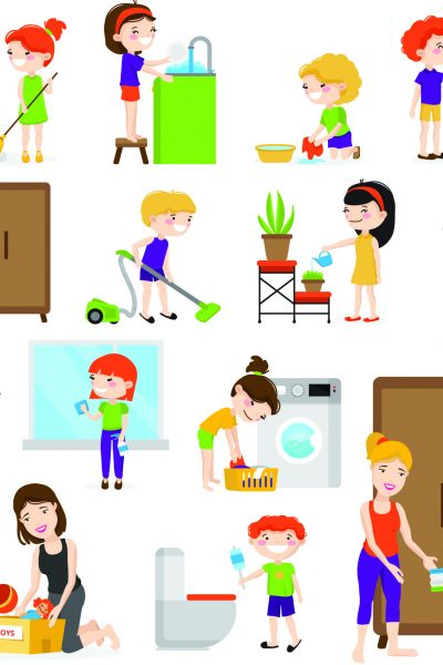10 Tips To Have Your Toddler Help With Chores list