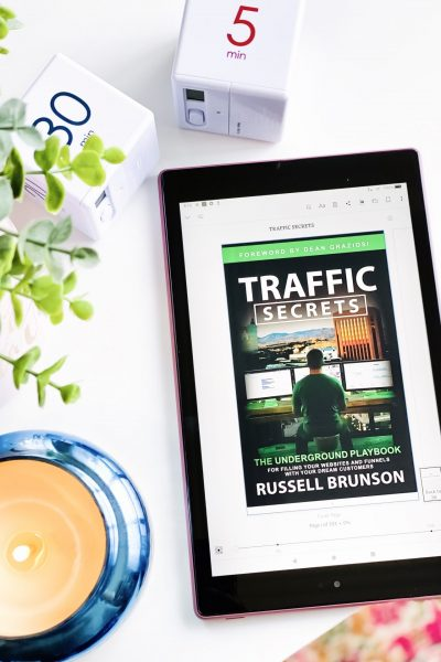 TIPS TO DRIVE TRAFFIC TO YOUR WEBSITE AND BLOG TRAFFIC SECRETS FLATLAY CANDLE