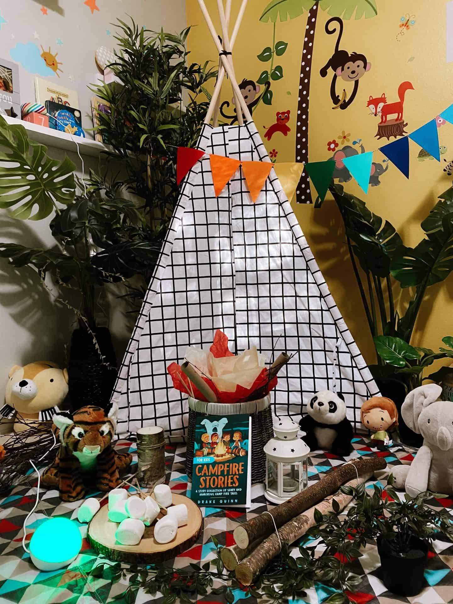 At-Home Indoor Camping Ideas & Activities Camp Prime Amazon