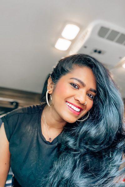 REST RESET RECHARGE RE-ENERGIZE BLACK TOP HAIR GOALS SMILE